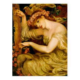 Sea Spell by Dante Gabriel Rossetti Postcard