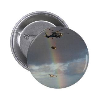 Sea Stallion 6 Cm Round Badge