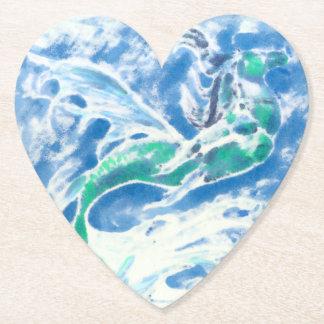 Sea Stallion Paper Coaster