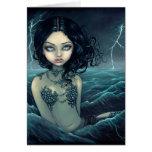 """Sea Storm"" Greeting Card"