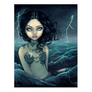 """""""Sea Storm"""" Postcard"""