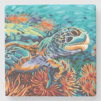 Sea Sweetheart I Stone Coaster