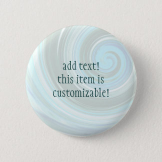 Sea Swirl Custom Buttons and Pins to Personalize
