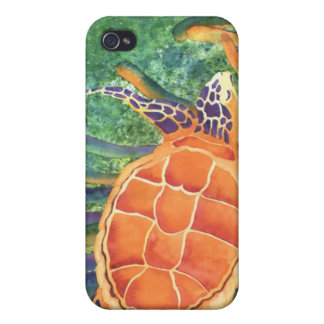 Sea the Beauty - sea turtle Cover For iPhone 4