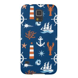 Sea Theme Pattern 1 Galaxy S5 Cases