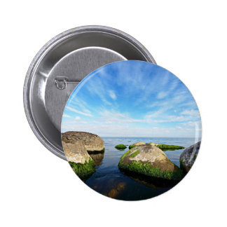 Sea Themed 6 Cm Round Badge