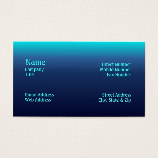 Sea Tones Business Card