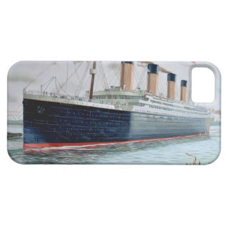 Sea Trials of RMS Titanic iPhone 5 Cover