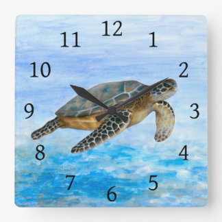 Sea Turtle 1 Clock
