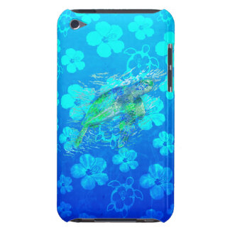 Sea Turtle And Blue Honu iPod Touch Cases