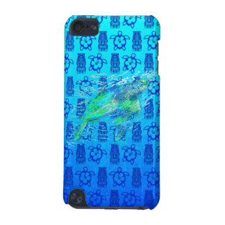 Sea Turtle And Blue Tiki iPod Touch (5th Generation) Covers