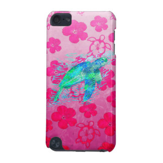 Sea Turtle And Pink Honu iPod Touch 5G Case