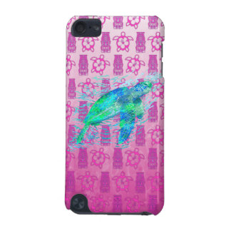 Sea Turtle And Pink Honu iPod Touch (5th Generation) Covers