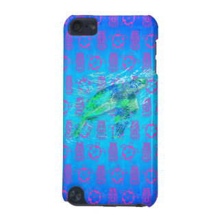 Sea Turtle And Tiki iPod Touch (5th Generation) Cases
