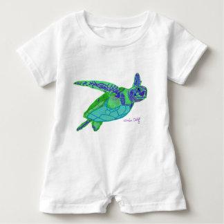 Sea Turtle Baby Romper Baby Bodysuit