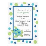 Sea Turtle Baby Shower Invitation boy or girl