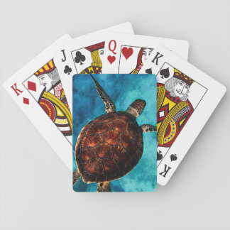 Sea Turtle Beauty Playing Cards