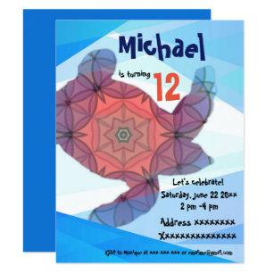 Sea turtle birthday invitations zazzle uk sea turtle birthday party invitation filmwisefo