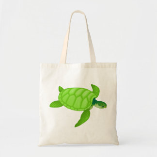 Sea Turtle Budget Tote Bag