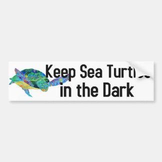 Sea Turtle Bumper Sticker
