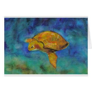 Sea Turtle by Paula Atwell Card