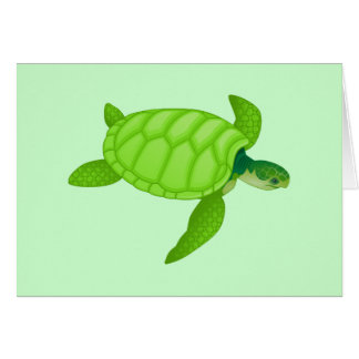 Sea Turtle Card