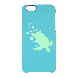 Sea Turtle Clear iPhone 6/6S Case
