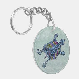 Sea Turtle Custom Keychain
