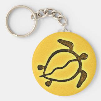 Sea Turtle Customized Key Ring