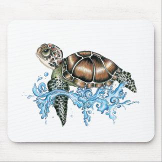 sea turtle design mouse mat