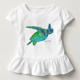 Sea Turtle Girl's Tee Shirt