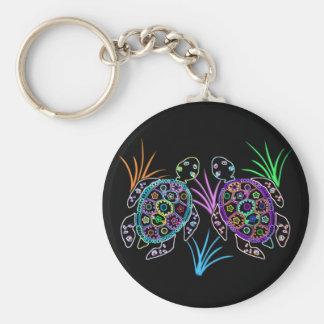 Sea Turtle Glow Key Ring