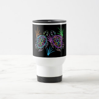 Sea Turtle Glow Travel Mug
