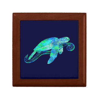 Sea Turtle Graphic Gift Box