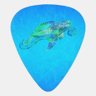 Sea Turtle Graphic Guitar Pick