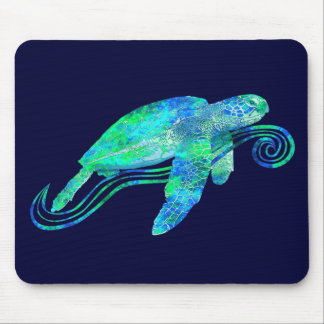 Sea Turtle Graphic Mouse Mat