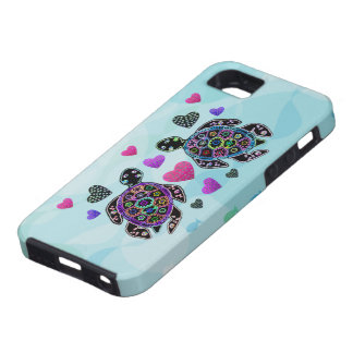 Sea Turtle Hearts Case For The iPhone 5
