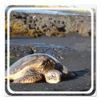 Sea Turtle Invitation