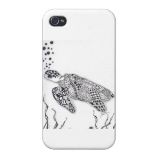 Sea Turtle Cover For iPhone 4