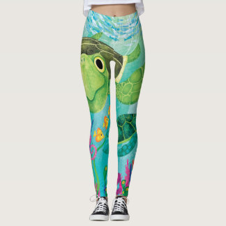 Sea Turtle Leggings