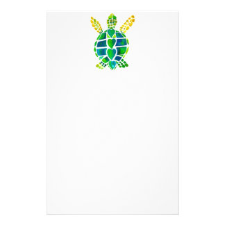 Sea Turtle Love Collection Personalized Stationery