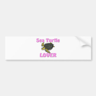 Sea Turtle Lover Bumper Sticker