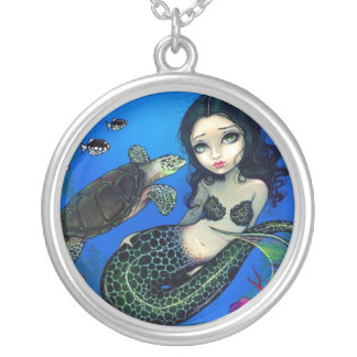 Sea Turtle Mermaid NECKLACE fantasy