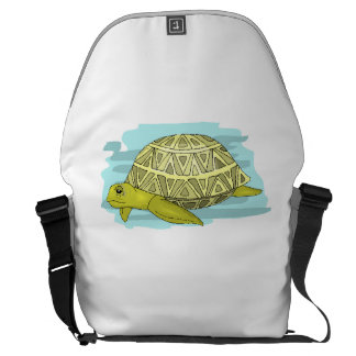 Sea Turtle Courier Bags