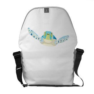 Sea Turtle Messenger Bags