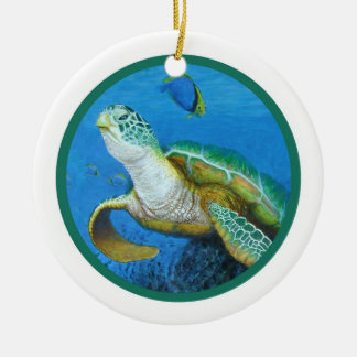 Sea Turtle Ornament -Personalize It!