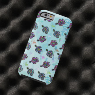 Sea Turtle Pattern Tough iPhone 6 Case