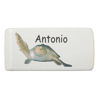 Sea Turtle Personalized Eraser