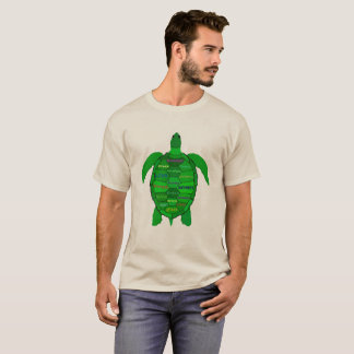 Sea Turtle Positive Words T-Shirt