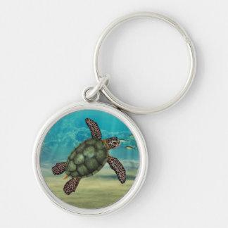 Sea Turtle Premium Keychain